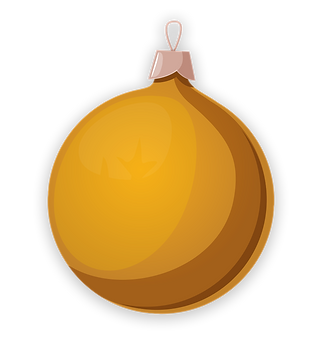 christmas ornament gold.png