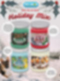 Holiday Mix jar candles pet odor