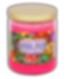 Trippy Hippie jar candle