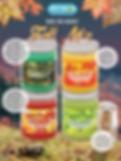 Fall Mix jar candles pet odor