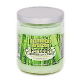 bamboo breeze jar candle pet odor exterminator