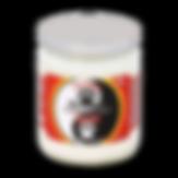 Yin Yang jar candle
