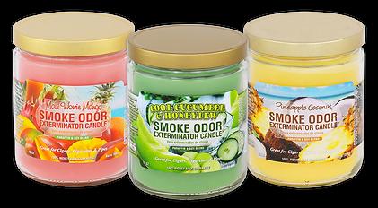 Maui Wowie Mango, Cool Cucumber & Honeydew, Pineapple Coconut jar candles