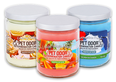Pet Odor Exterminator Candles, candles, jar candles, specialty pet products