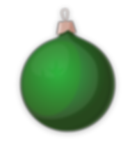 christmas ornament green.png