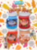 Harvest Mix jar candles pet odor