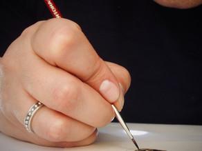 Etape de la création d'un bijou sur commande