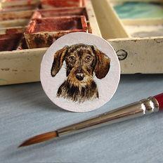 peinture miniature t joaillerie ancienne amelie lemeur stephanie corvez artiste peintre antiquaire saint ouen paris boulogne