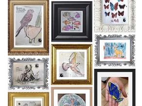 Exposition virtuelle des coloriages des dessins du mercredi