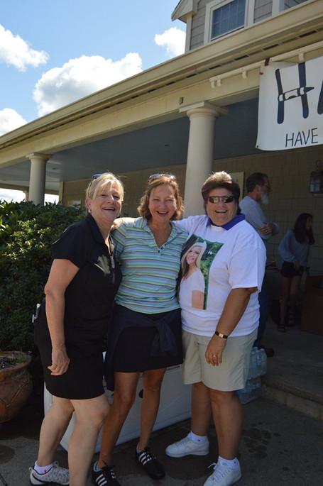 With Nancy Barron McDonough and Tracey Cataldo