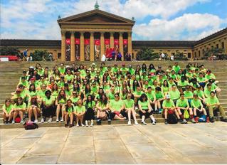 HASKD helped sponsor the Frolio Middle School trip to Philadelphia.
