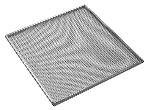 """26""""x26"""" 304 Food-Grade Stainless Steel Mesh Trays"""