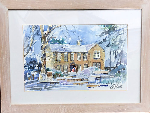 Haworth Home Of The Brontes