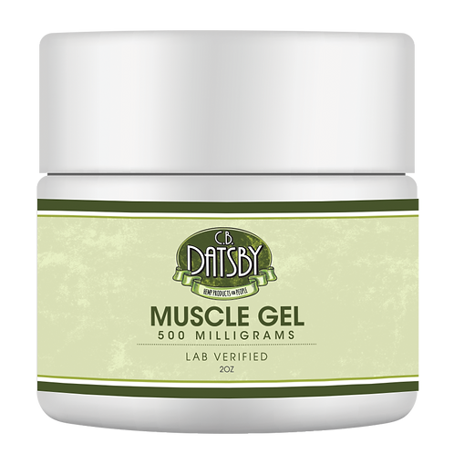 Muscle Gel with 500 Milligrams of CBD