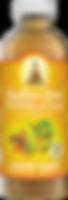 Buddhas Brew Kombucha Tangerine Turmeric 16oz Pint Bottle
