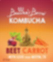 Beet Carrot Buddhas Brew Kombucha