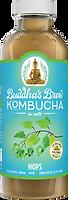 Buddhas Brew Kombucha Hops 16oz Pint Bottle