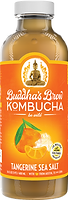 Buddhas Brew Kombucha Tangerine & Sea Salt 16oz Pint Bottle