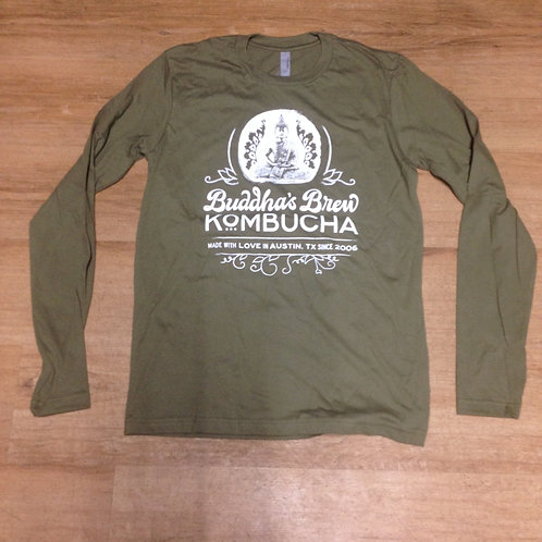 Next Level 3601 Long Sleeve - Military Green