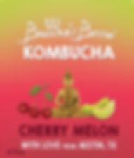 Tart Cherry Melon Buddhas Brew Kombucha