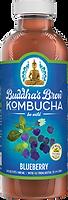 Buddhas Brew Kombucha Blueberry 16oz Pint Bottle