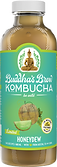 Buddhas Brew Kombucha Seasonal Honeydew 16oz Pint Bottle