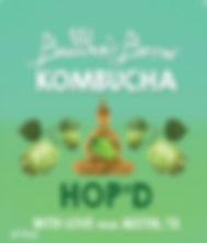 Hop'D Buddhas Brew Kombucha