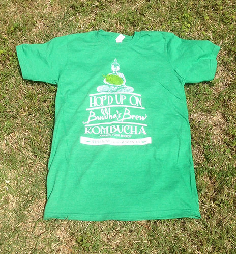 Hop'd Anvil Organic/Recycled Green Tee