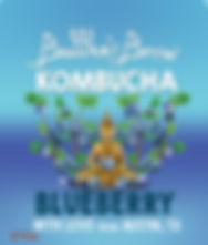 Blueberry Buddhas Brew Kombucha