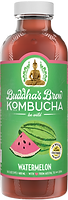 Buddhas Brew Kombucha Watermelon 16oz Pint Bottle