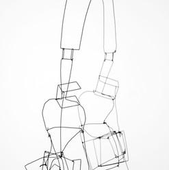 Kopfhörer  Draht  3D-Gestaltung  Februar 2017