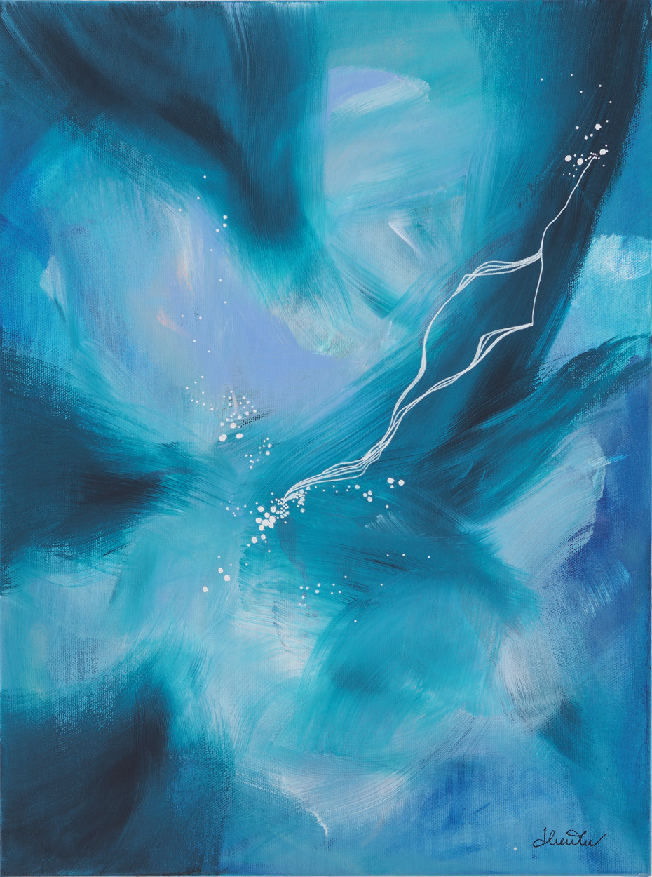Artic lights (12x16po)