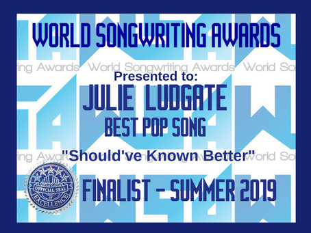 WSA (World Songwriting Awards) Finalist!