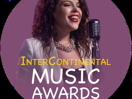 Winner of Best Pop Song in the InterContinental Awards!!