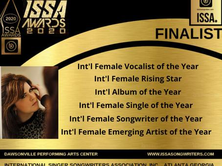 ISSA 2020 Awards Finalist!!