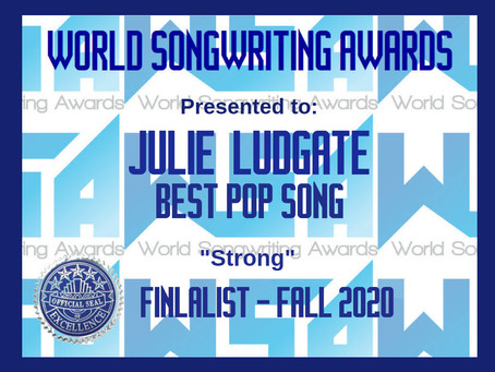 WSA (World Songwriting Awards) Finalist