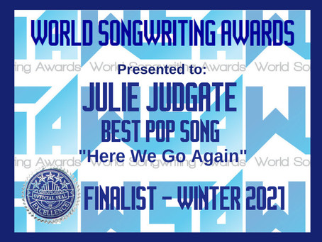 WSA Songwriting Awards Finalist!!