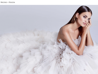 NICOLE + FELICIA FW20 Bridal Collection Campaign