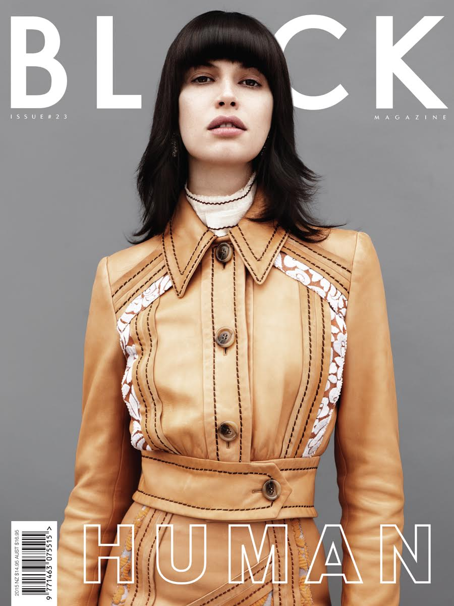 Black Magazine Cover