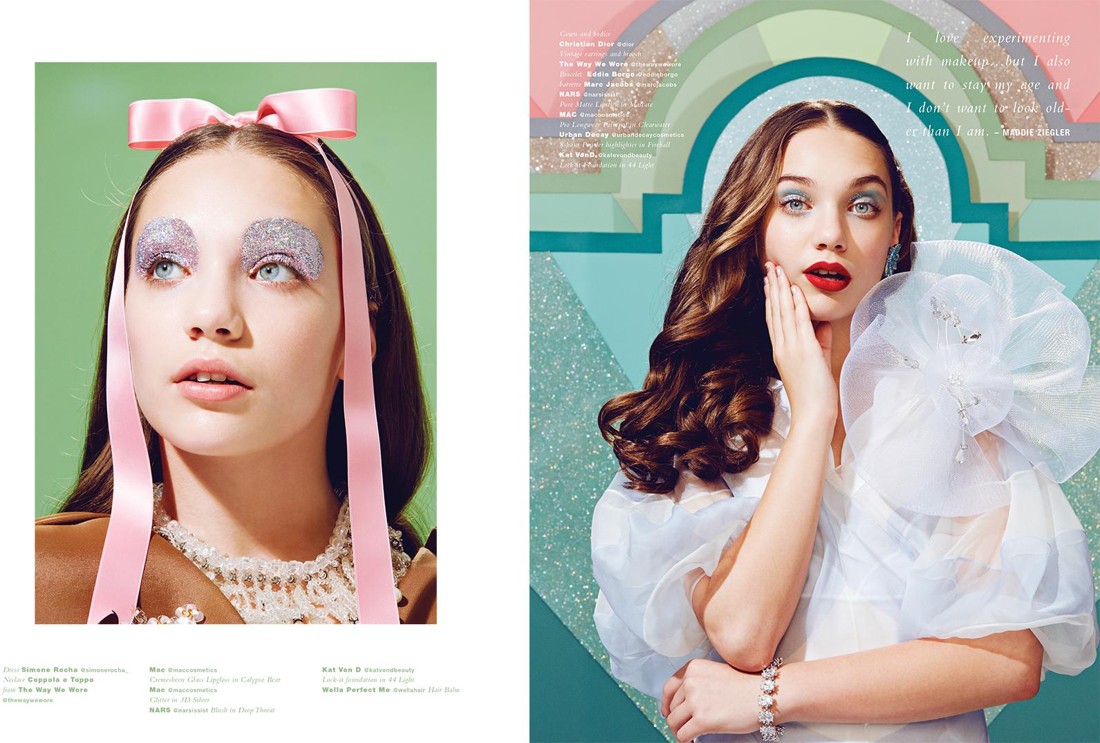 Maddie Ziegler for Paper Magazine