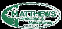 Matthews Landscape Logo