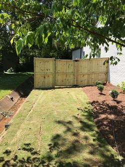 Fence  & Landscape