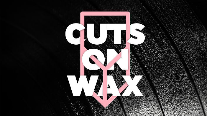 vinyl grooves cuts on wax logo