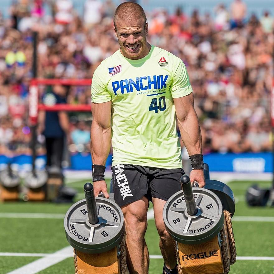Scott Panchik - An amazing 5 times CrossFit Athlete
