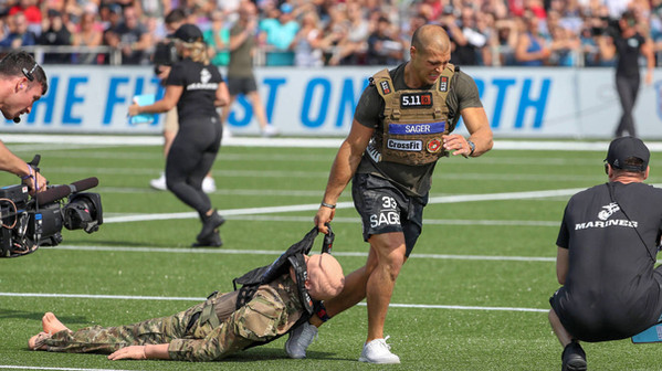 Cole Sager - 6th Times CrossFit Games co