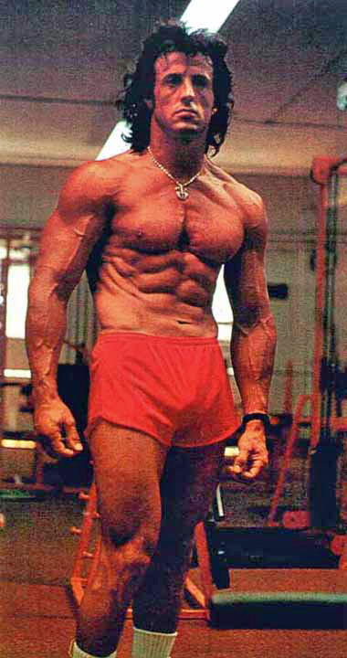 Sylvester Stallone - My All Life Idol and Fitness Inspirationde Toda la Vida