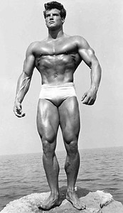 Steve Reeves - Hercules and The Greatest and All Natural Bodybuilder