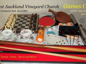 It's all fun and games at The Vineyard Centre