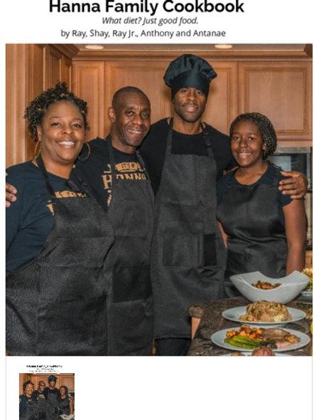 Hanna Family e-Cookbook