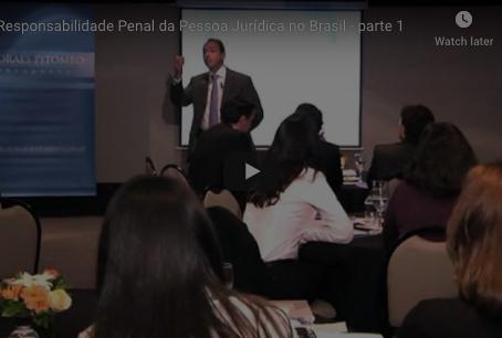 Responsabilidade Penal da Pessoa Jurídica no Brasil - Parte 1